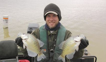 Kentucky afield outdoors warmer days mean white crappie for Crappie fishing ohio