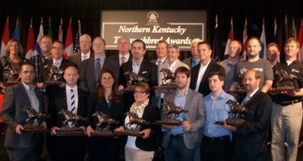 Thoroughbred Award winners (Photos by Mark Hansel)