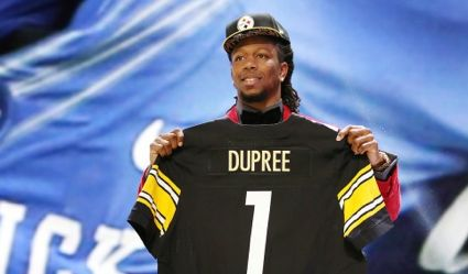 promo code ba88d 7305c Kentucky linebacker Dupree goes in first round to Steelers ...