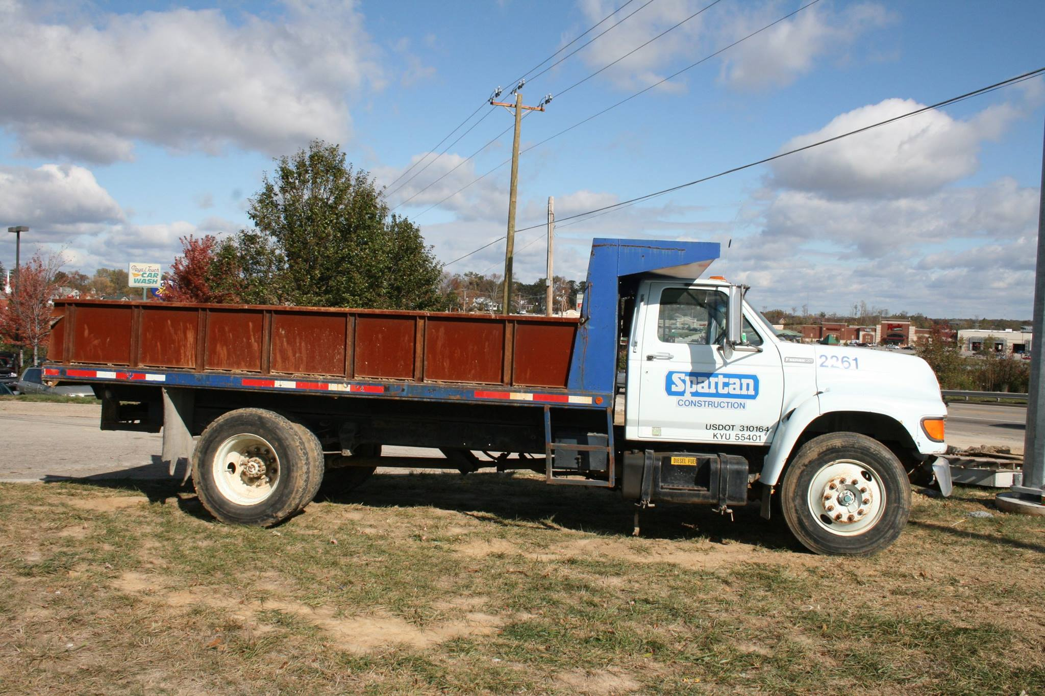 keven moore old dump truck is missing no more thanks to power of