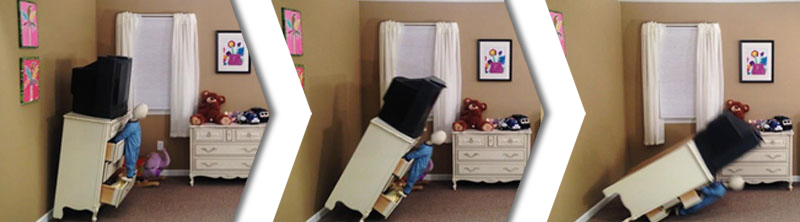 Kết quả hình ảnh cho Unsecured Furniture for kids