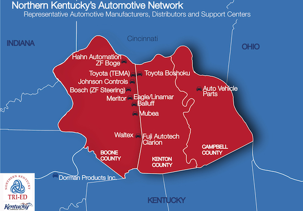 Ford Louisville Ky >> Study shows auto industry contributes $14.3 billion to state's economy, Northern Kentucky is key ...