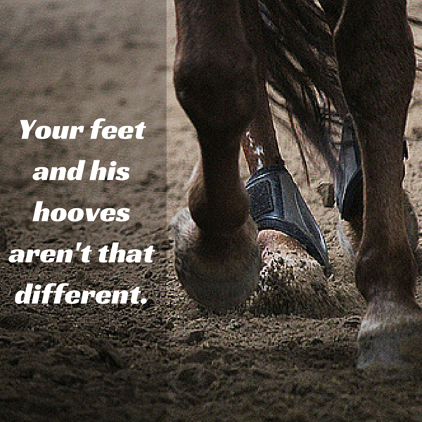 Alot rides on your horse's hooves (1)