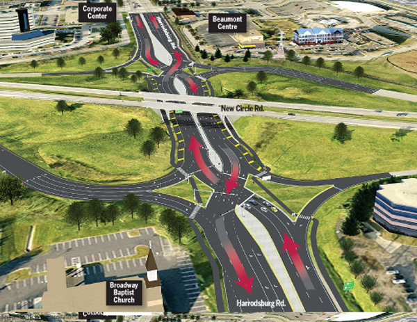 Keven Moore: Double crossover diamond interchanges improve