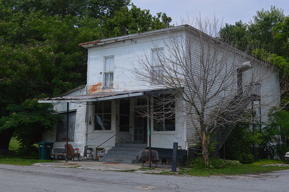 The exterior of Jones Grocery in Sherburne, Ky.