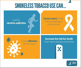 Smokeless tobacco education for teens