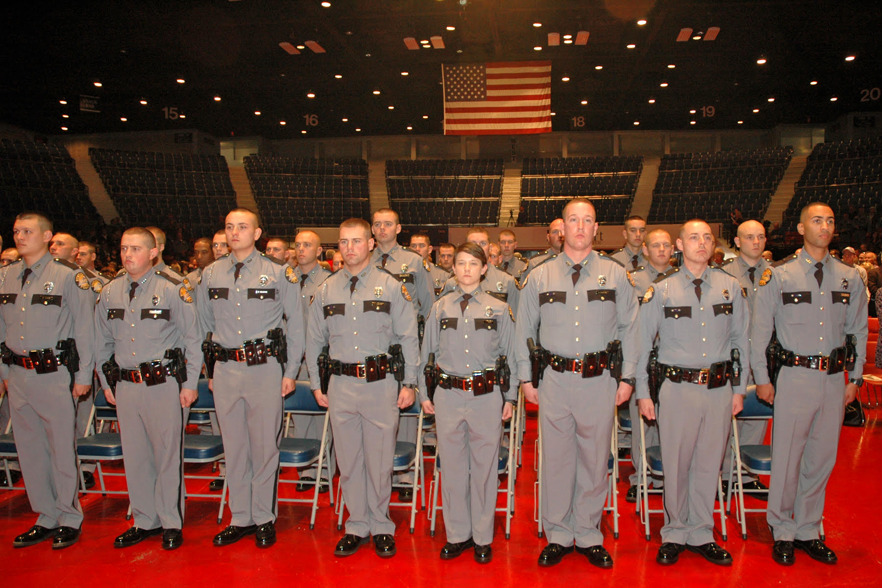 After a rigorous 23-weeks of training, 45 cadets graduate from