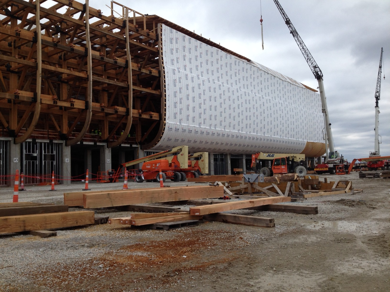As the ark rises in williamstown fabrication and design work being ark exterior malvernweather Choice Image