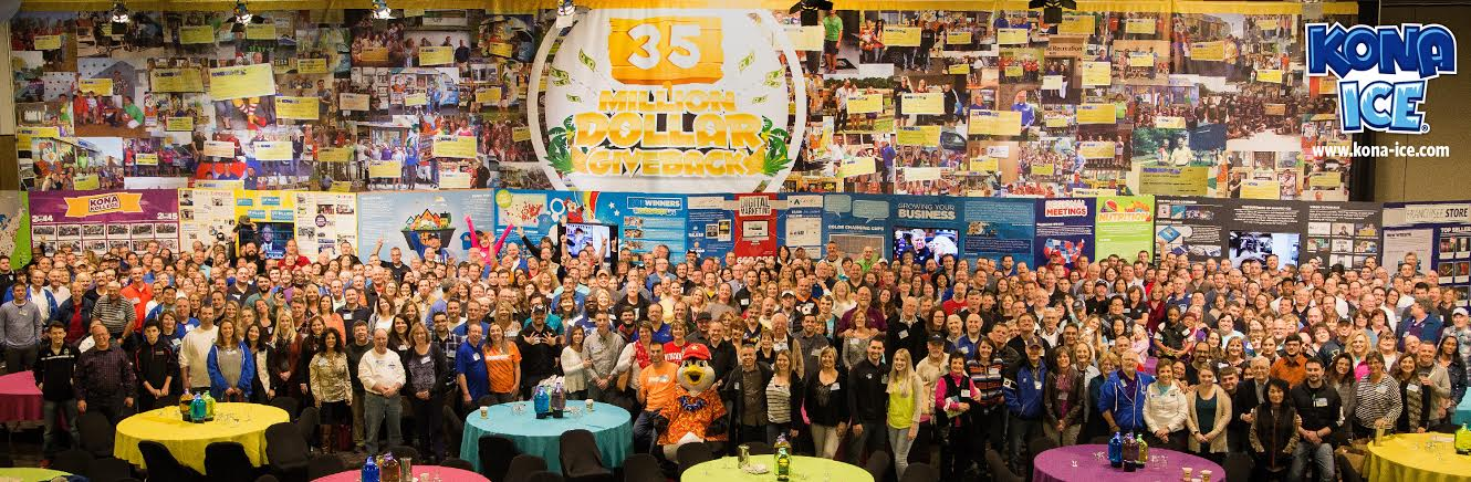 More than 700 franchisees and employees attended this year's Kona Konvention at the Northern Kentucky Convention Center. The Florence-based business has grown from just a handful of trucks to one of the country's top franchises in just a few years.