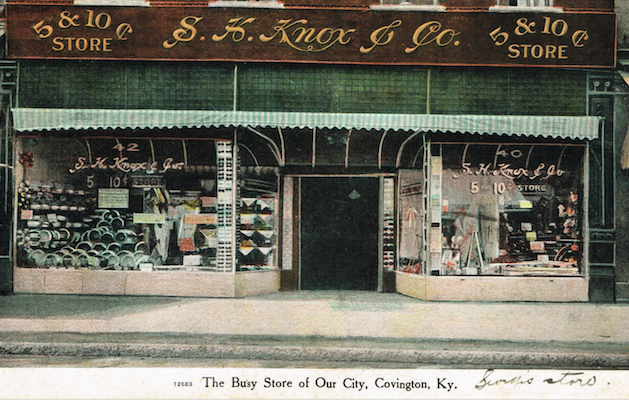 Our rich history ah the magical memories those five Five and dime stores history