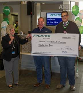 the introduction of frontier airlines and the low cost airlines at cvg Start earning points sign up for a rapid rewards® account and earn points on your next flight.