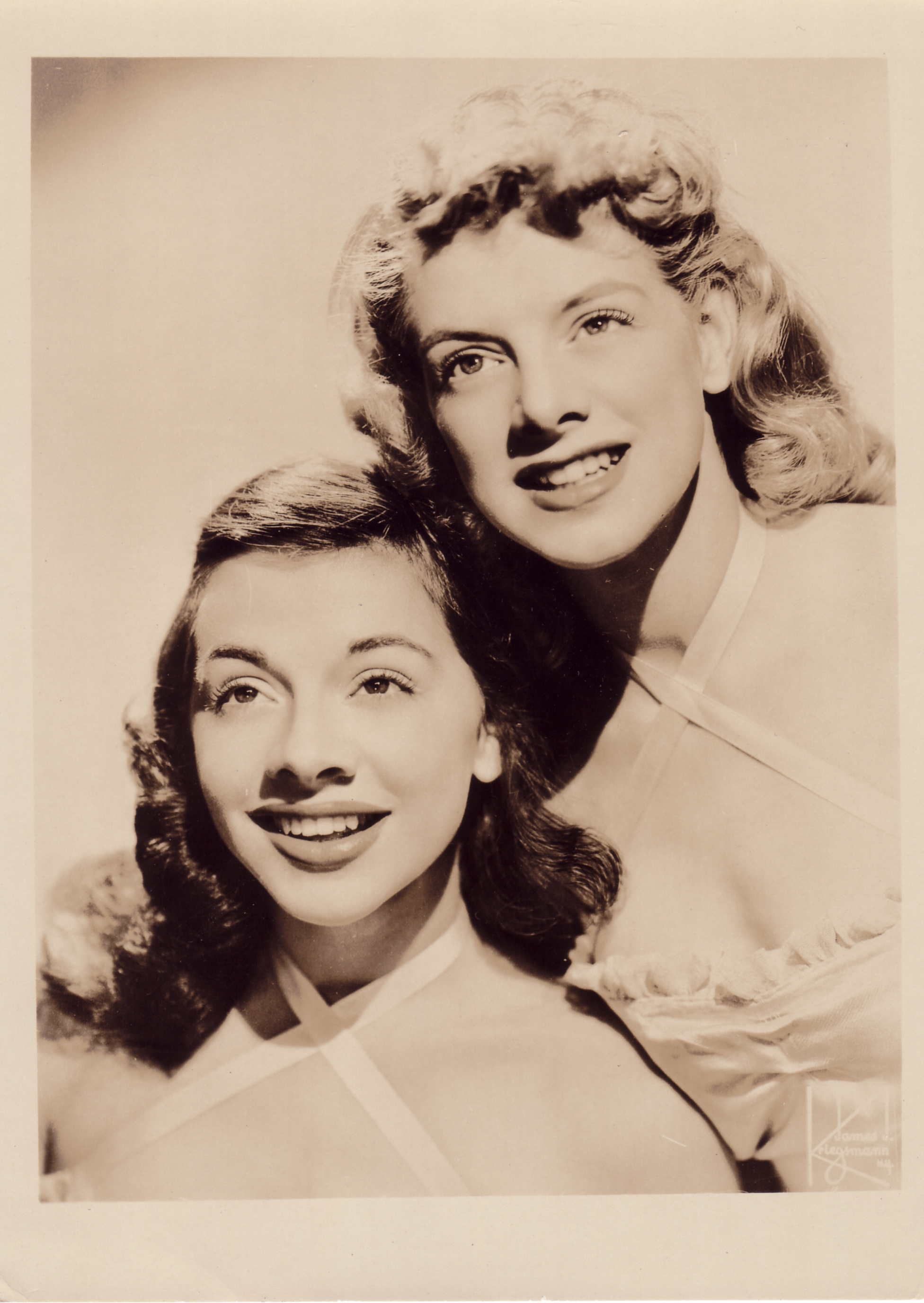 Betty and Rosemary Clooney. (Photo courtesy of Nick and Nina Clooney.)