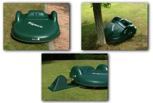 Robotic Mower -bigmow pics from Their Website
