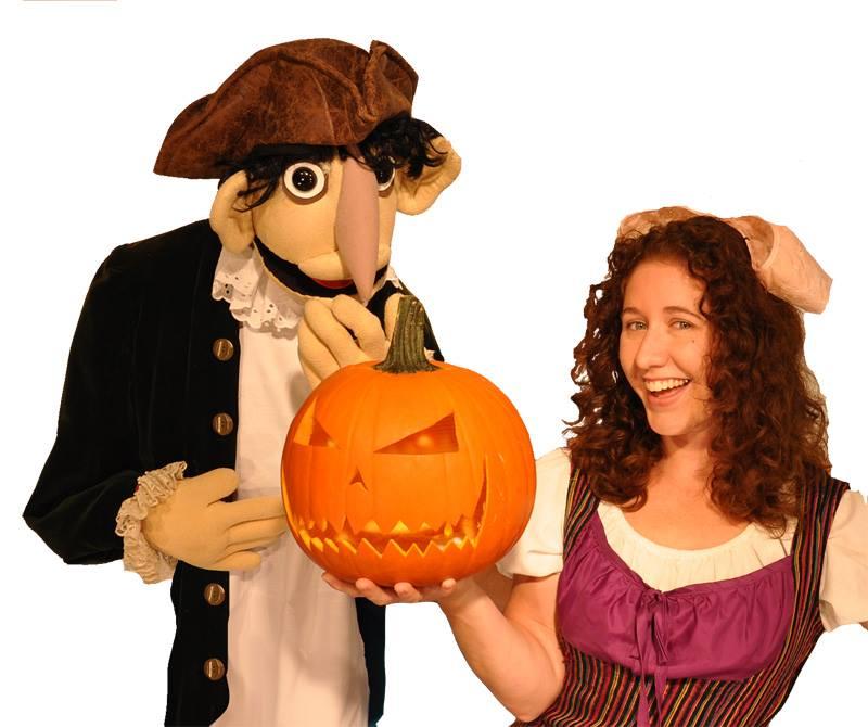 madcap puppets present legend of sleepy hollow - Sleepy Hollow Halloween Costumes