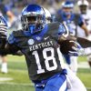 """Stanley """"Boom"""" Williams led UK's rushing attack in a 17-10 win over South Carolina Saturday night (UK Athletics Photo)"""