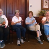 Residents engage in daily planned activities in the Parlor. (Photo provided)