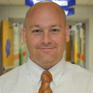 Scott Alter, principal of Glenn O. Swing Elementary in Covington