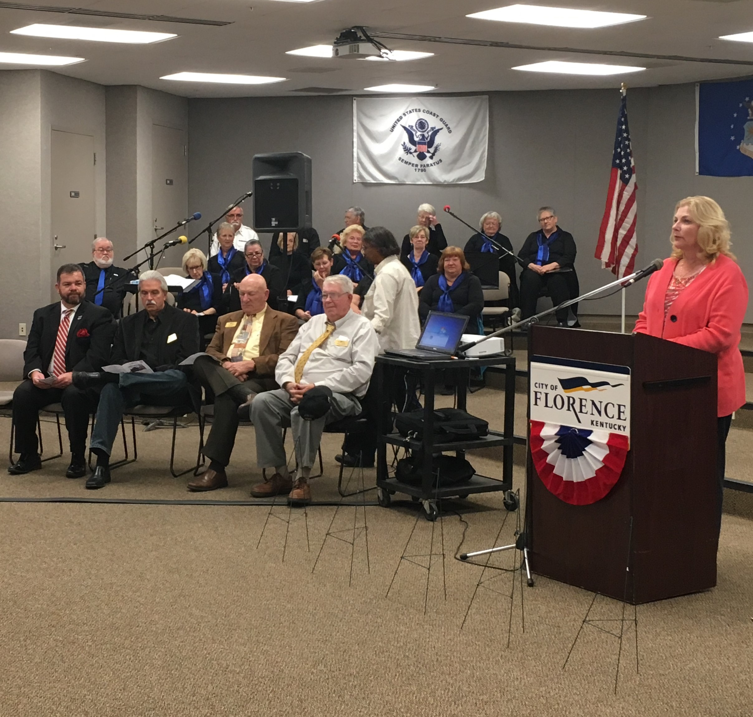 Florence honors those who served, welcomes adopted unit ...