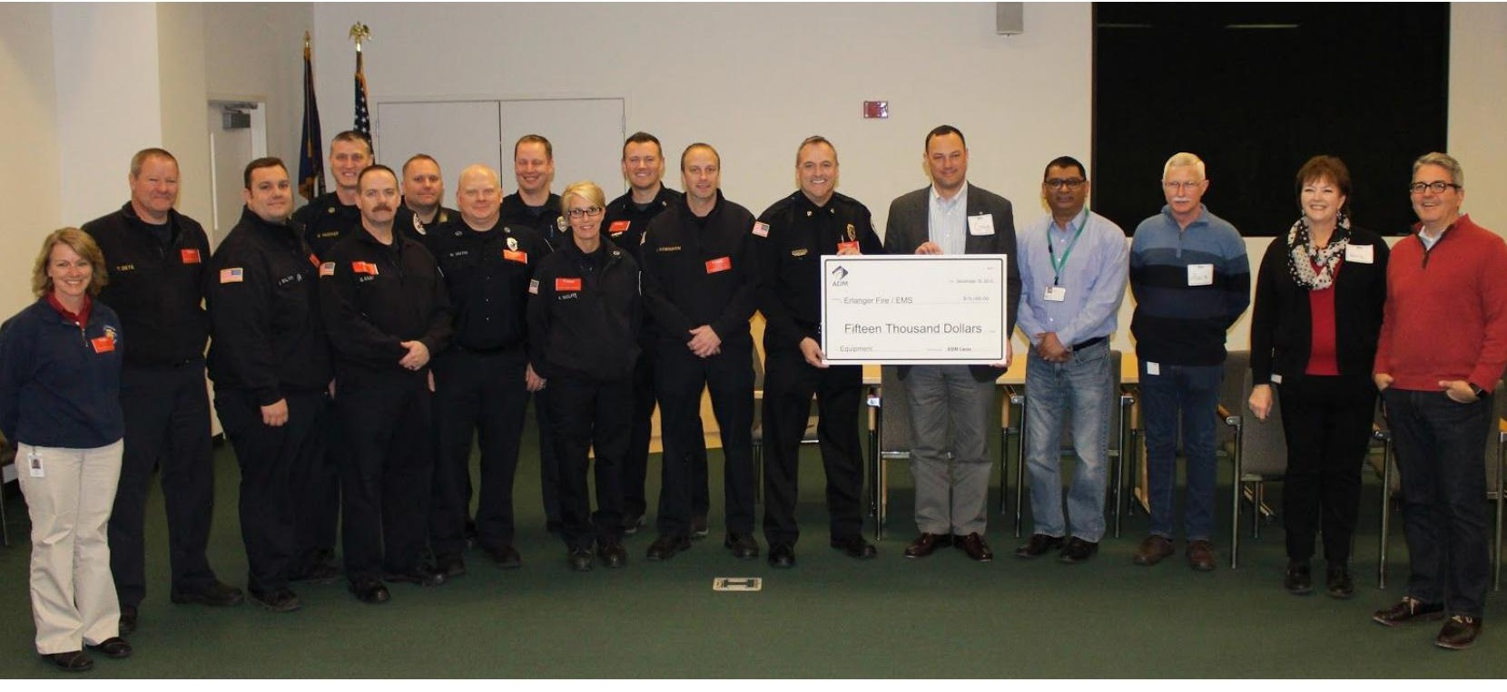 Erlanger Fire/EMS receives $15,000 grant from ADM