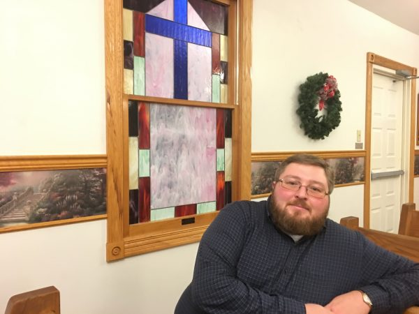 Pastor Brad Epperson had to reconsider his own views about addiction as a moral issue before he could commit to support a needle exchange program. (Photo by Mary Meehan/Ohio Valley ReSource)