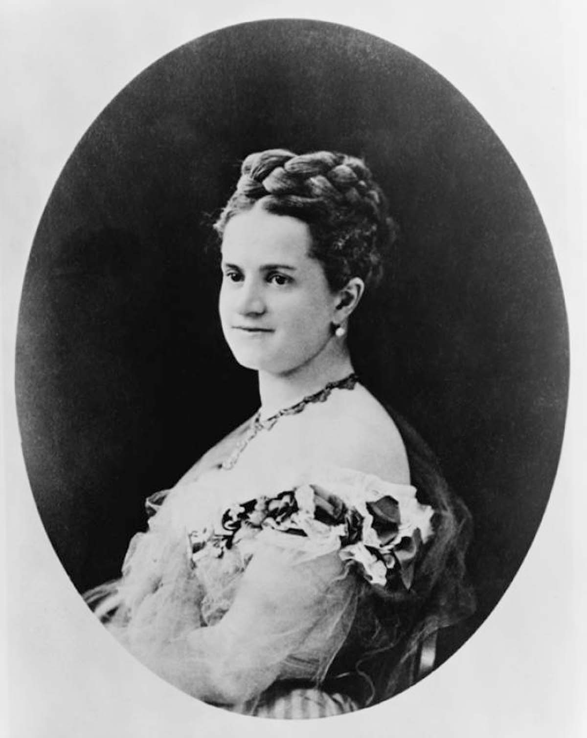 Emily Warren Roebling (1843-1903). Herself an engineer, she succeeded her father-in-law, John Roebling, and her husband, Washington Roebling, as the lead field engineer who completed the Brooklyn Bridge. Library of Congress/Everett Collection.