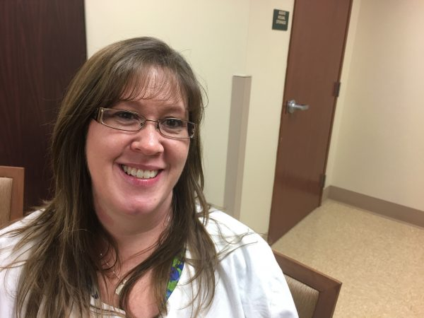 Powell County Public Health Nurse Mandy Watson first prayed to stop a needle exchange program. But concern about an HIV outbreak changed her mind (Phto by Mary Meehan/Ohio Valley ReSource)