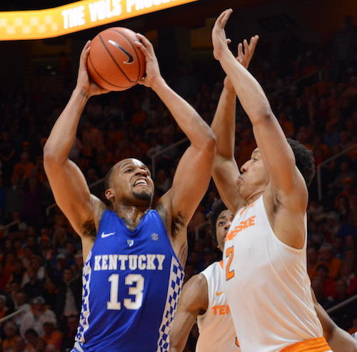 kentucky regressed tennessee loss