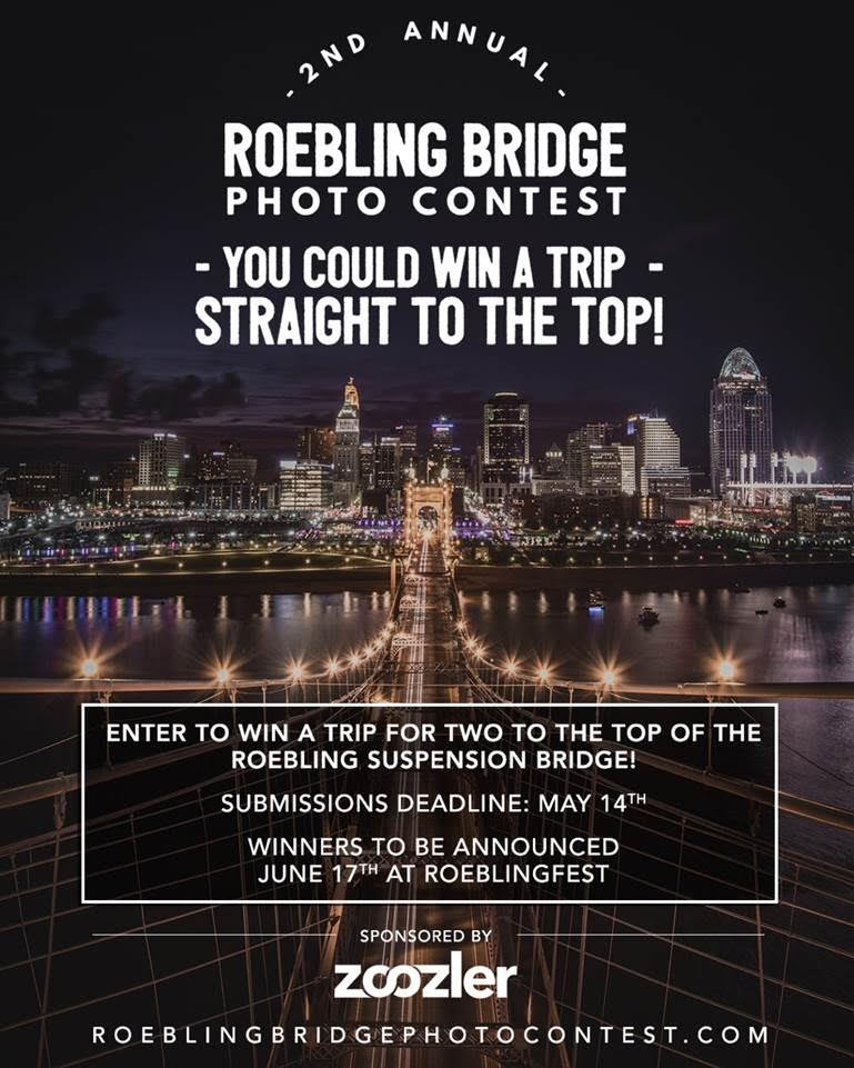 Enter Roebling Bridge Photo Contest for chance to win trip