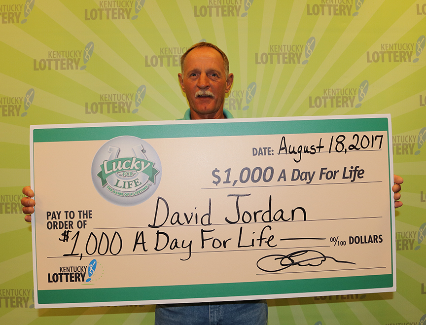 Lewis County man is 'Lucky For Life