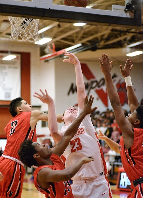 All A Classic Beechwood Wins First Ever Regional Basketball Title On Stickback Basket As Time