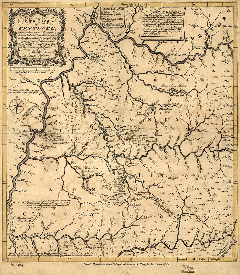 Our Rich History John Filson First Kentucky Historian
