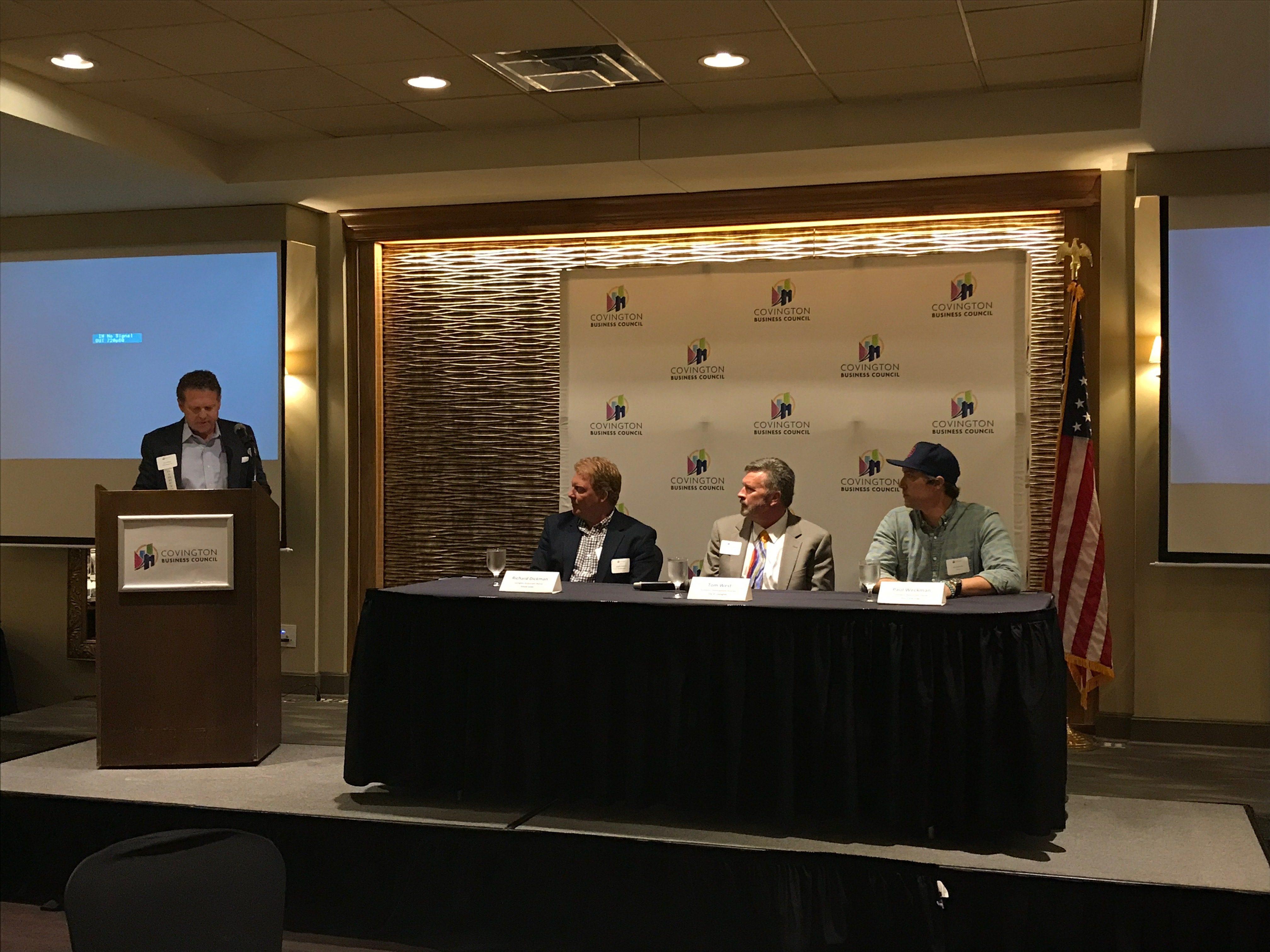 Covington Business Council Panelists Talk About Role And Importance