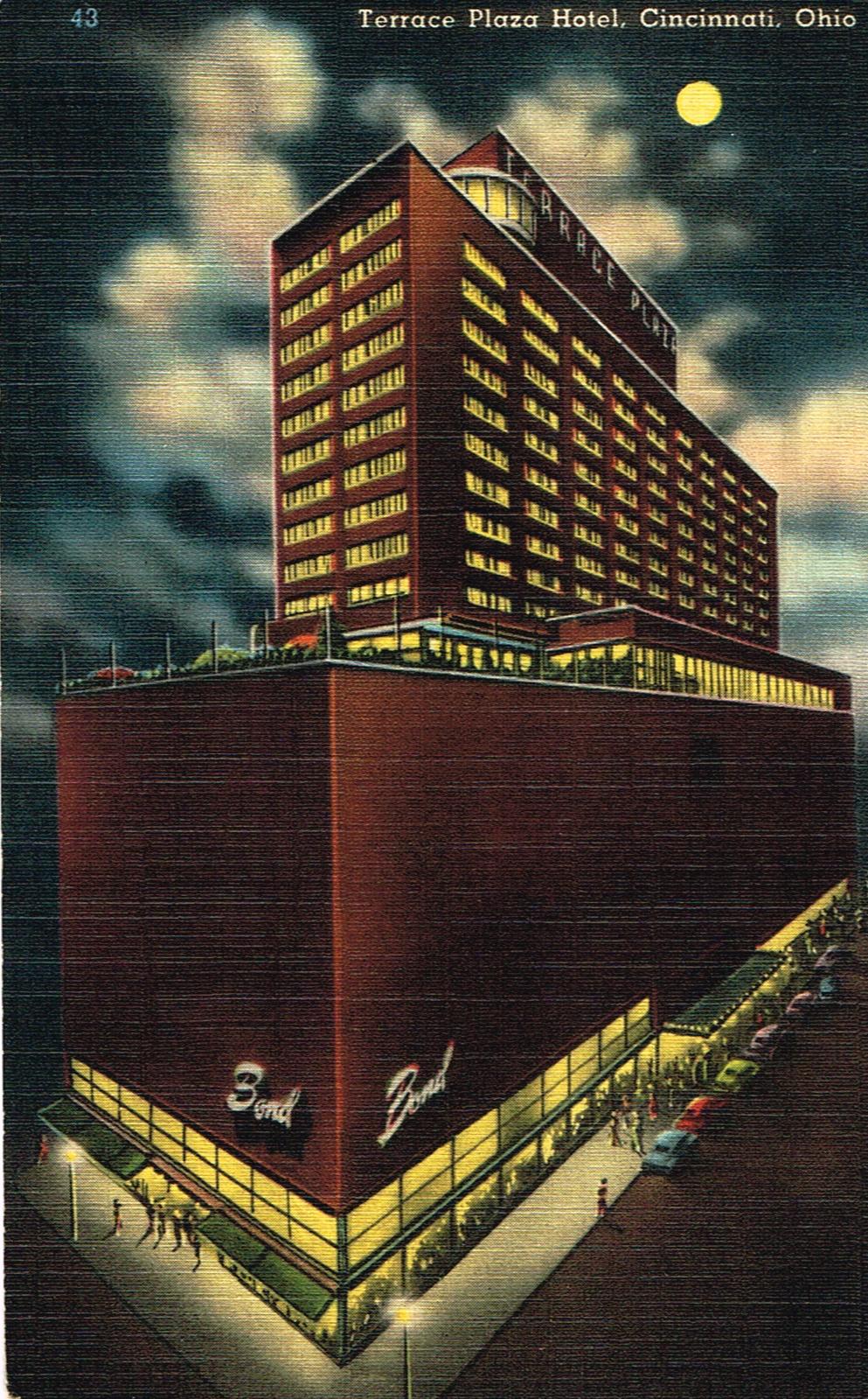 Area's first skyscraper:  the Terrace Hilton