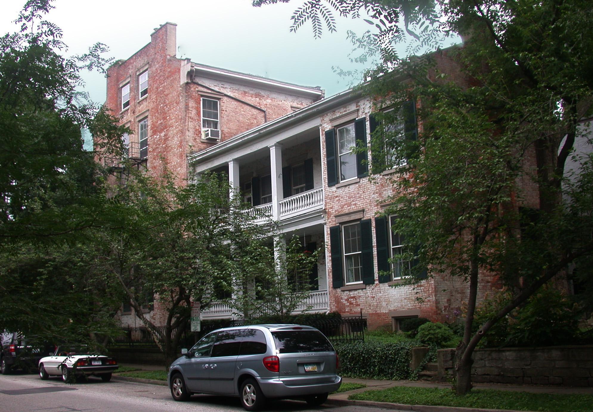 The Marmaduke Moore family home at 201 Garrard Street, Covington (Photo by Paul Tencotte)