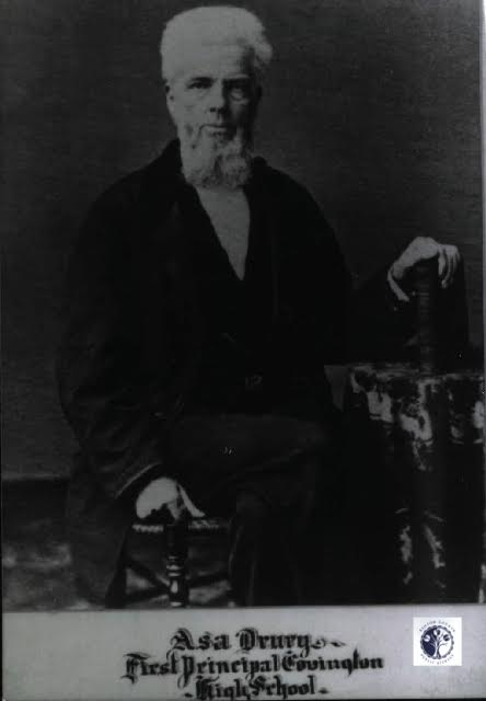 First principal, Asa Drury (Kentucky County Public Library archives)