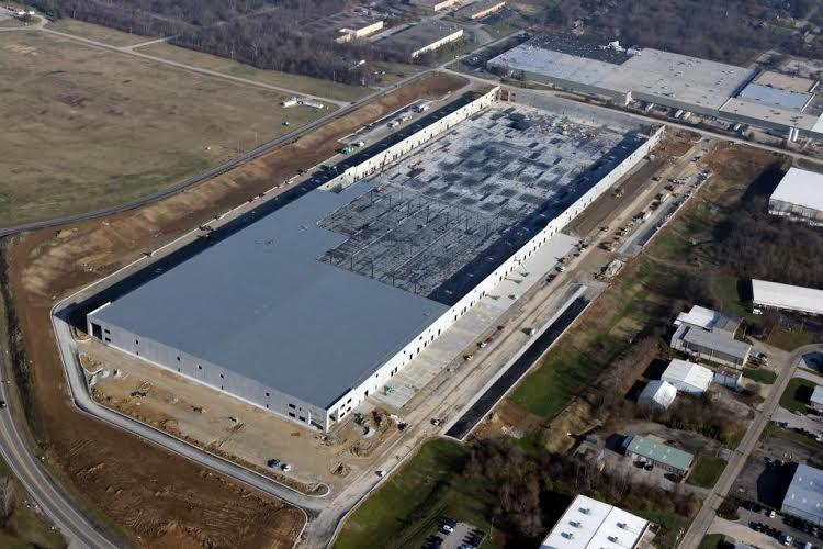 Aerial Photo Shows Progress On Massive Wayfair