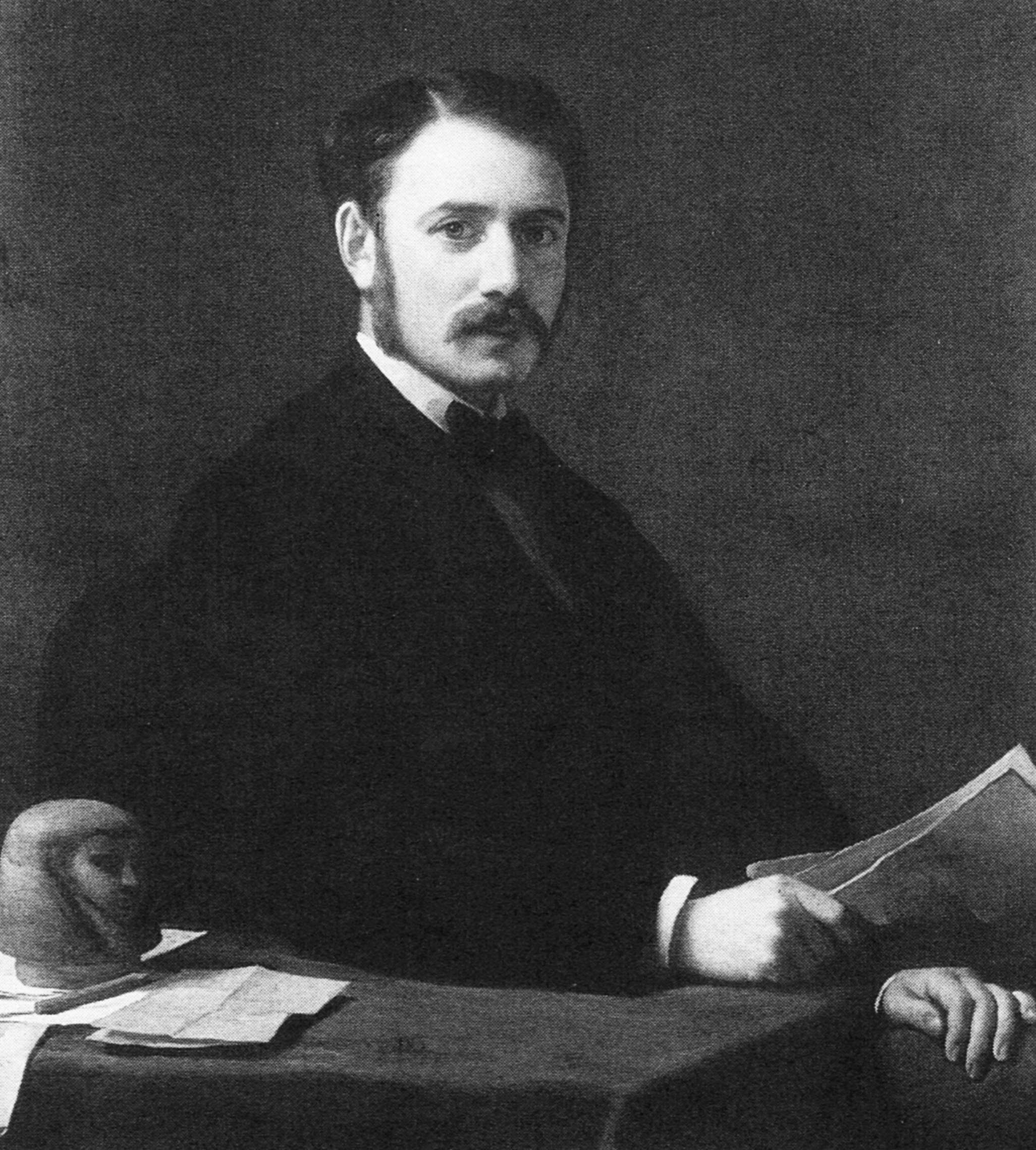 Barron Frederick Emile d'Erlanger, 1869. Source: Wayne Onkst, ed., From Buffalo Trails to the Twenty-First Century: A Centennial History of Erlanger, Kentucky.