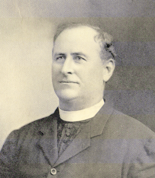 Father Thomas Kehoe, Pastor St. James Catholic Church from 1894-1921 (photo provided_
