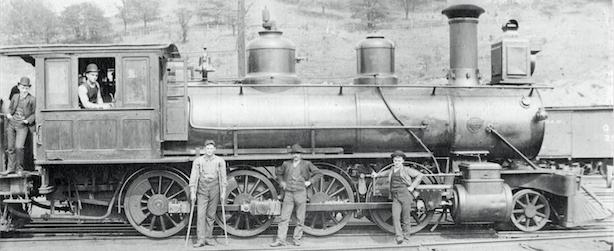 Locomotive, Cincinnati Southern Railroad Yards, Ludlow