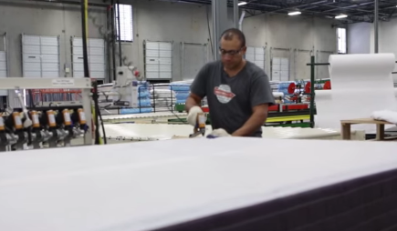 Sherwood Mattress production