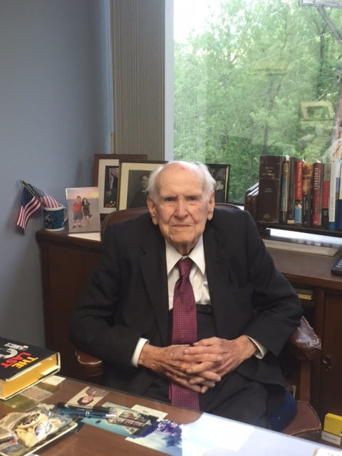 John Klette, Jr., at his Ft. Mitchell law office of Klette, Klette and Mauntel