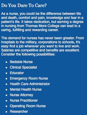 Thomas More College Nursing program to undergo accreditation