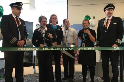 Frontier Launches New Low Cost Flights From Cincinnati
