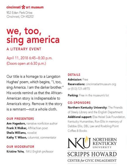 NKU, Scripps Howard Center presents 'I, too, Sing America