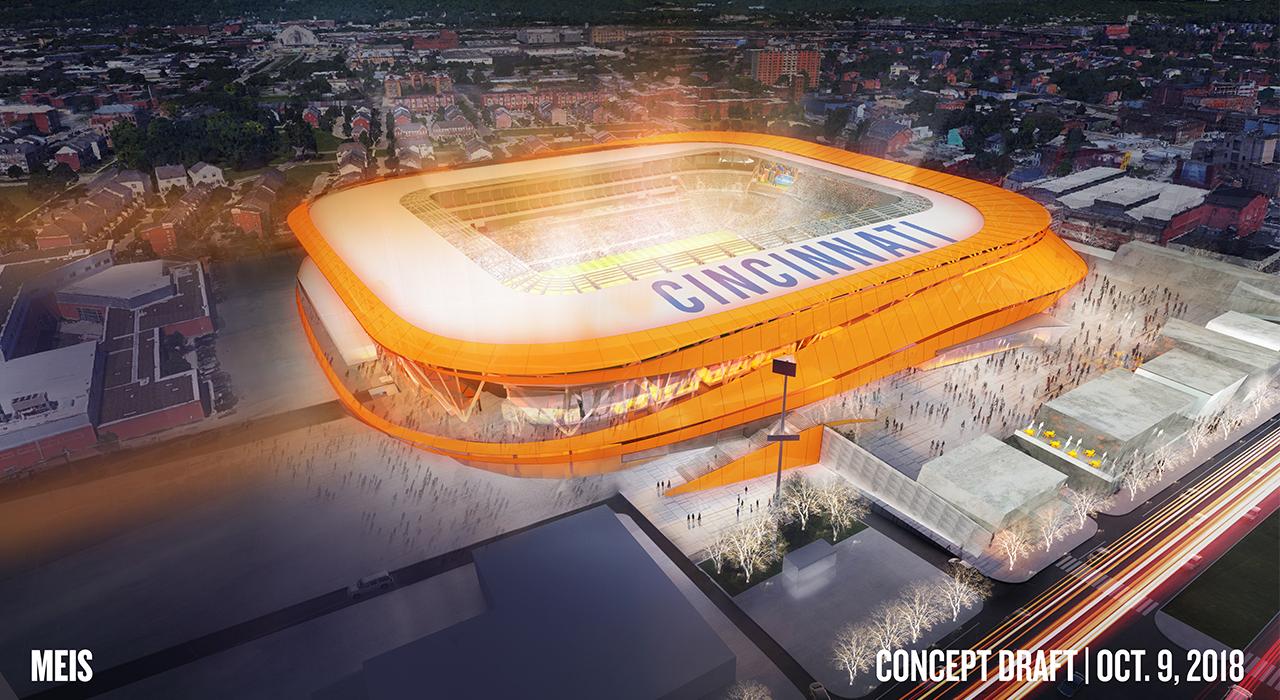 FC Cincinnati unveils new logo, identity, to fans in ...