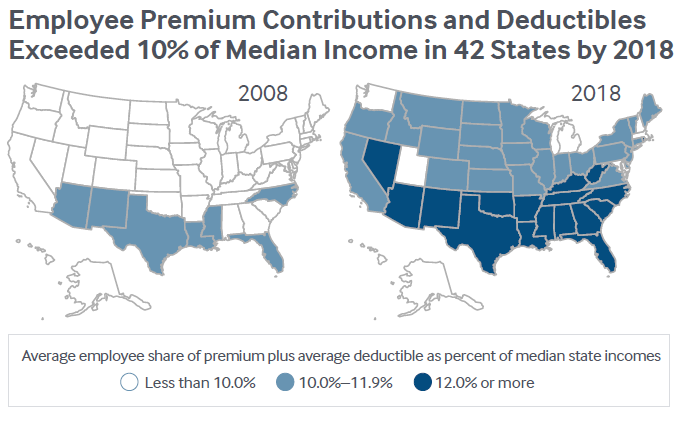 Report Health Insurance Costs Taking Larger Share Of Middle Class Incomes Costs Grow Faster Than Wages Nkytribune